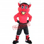 New Red Devil Mascot Costumes For Adults Christmas Halloween Outfit Fancy Dress