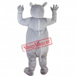 Happy Rhino Rhinoceros Mascot Costume Fancy Dress Custom Cosplay Theme Mascotte