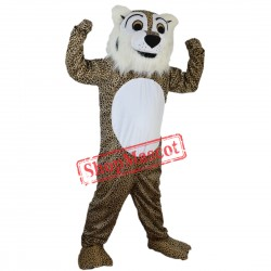 Custom Made Deluxe Fierce Leopard Mascot Costume Adult Size