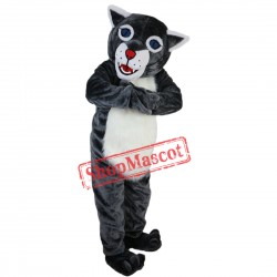 New Hot Sale Wildcat Mascot Costume Adult Size Halloween Outfit Fancy Dress