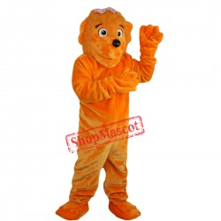Girl Funny Lion Mascot Costume Adult Size Cartoon Lion Costumes
