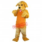 Funny Dog Mascot Costume Adult Size Cartoon Dog Costumes