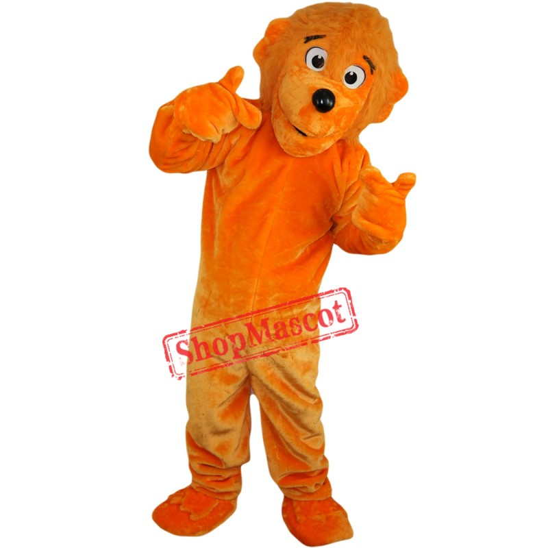 Boy Funny Lion Mascot Costume Adult Size Cartoon Lion Costumes