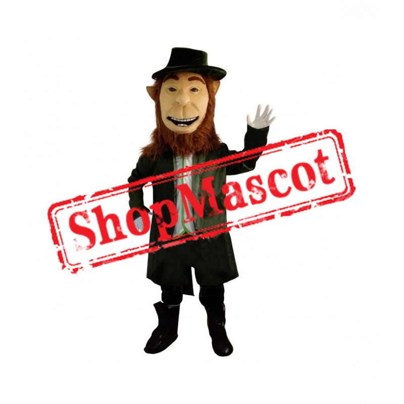 Irish Leprechaun Mascot Costume