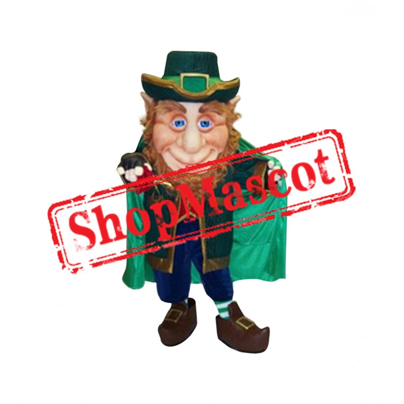 Leprechaun Elf Mascot Costume