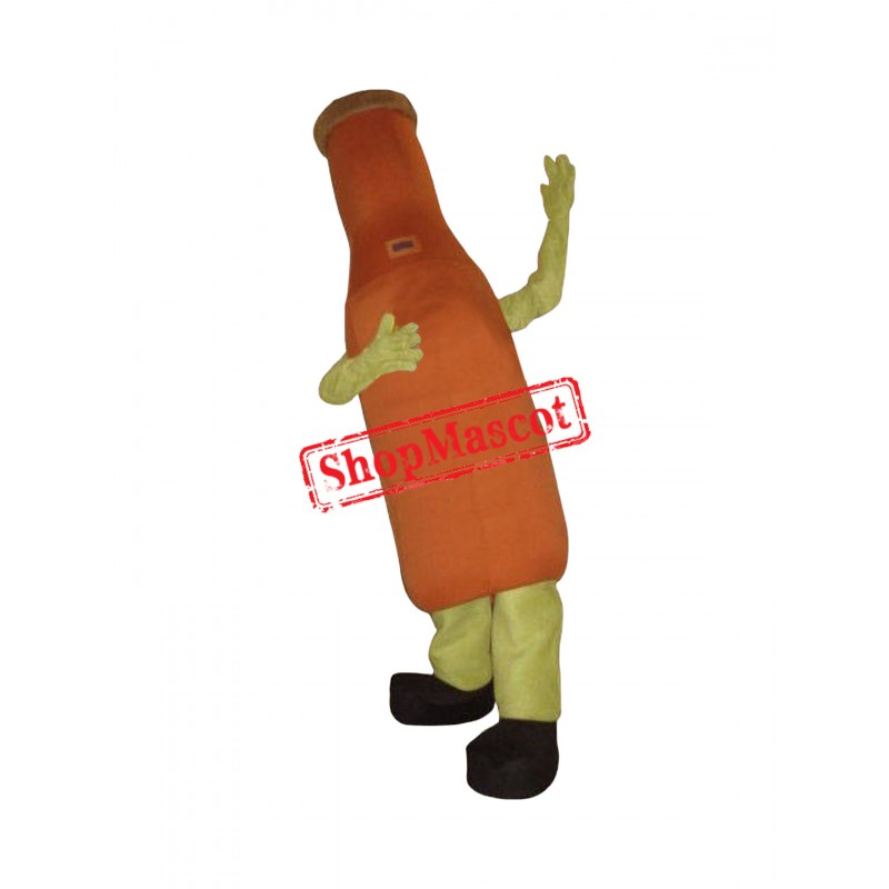 Superb Lightweight Beer Bottle Mascot Costume