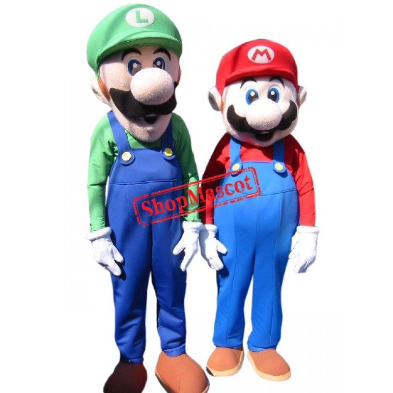Superb Super Mario Mascot Costume