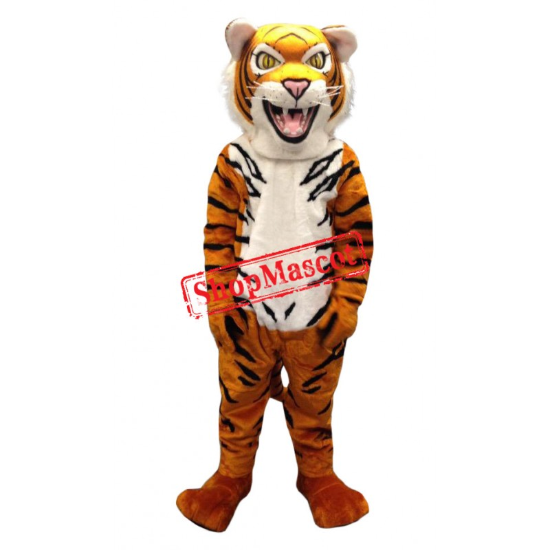 Superb Fierce Tiger Mascot Costume