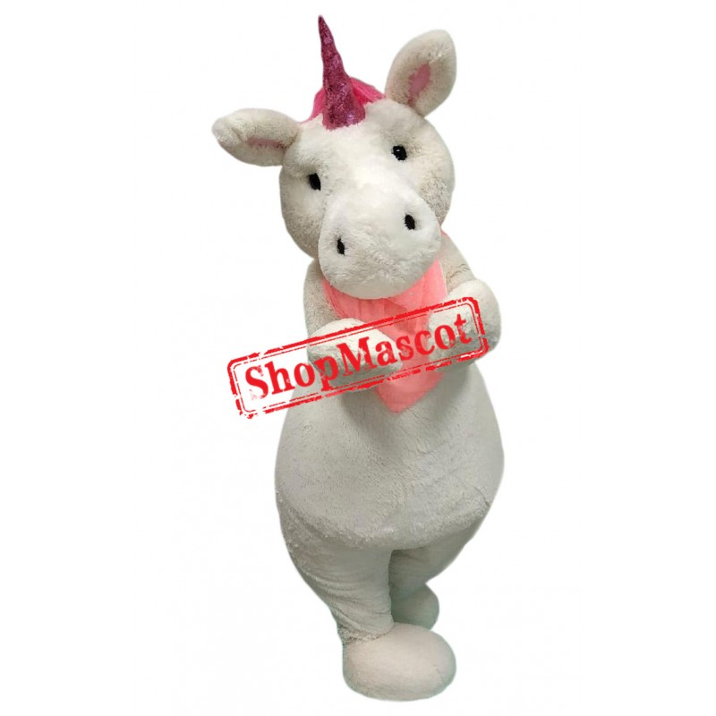 Cute Unicorn Pony Mascot Costume