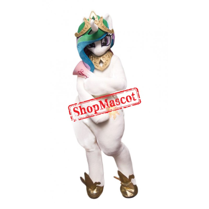 Superb Lightweight Unicorn Mascot Costume
