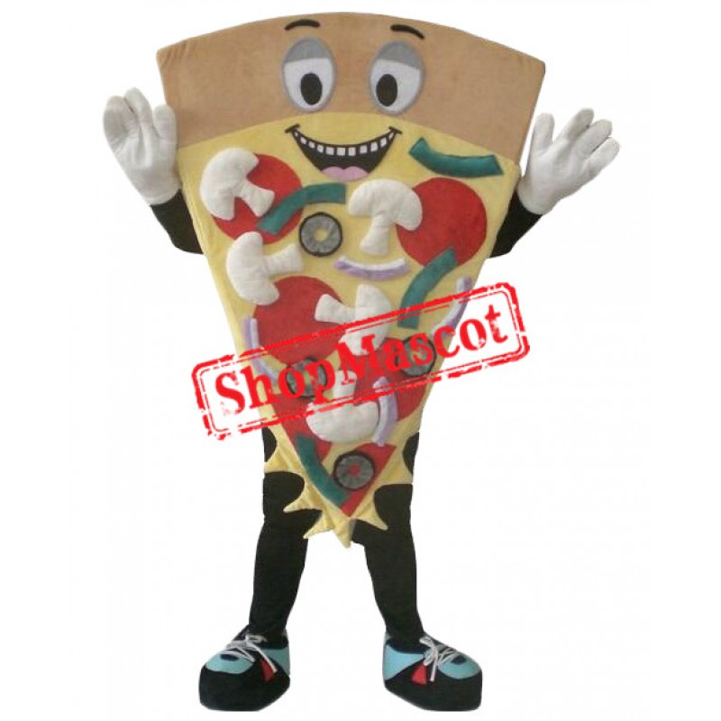 Pizza Food Mascot Costume