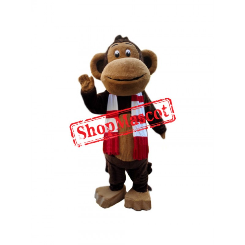 Superb Friendly Monkey Mascot Costume