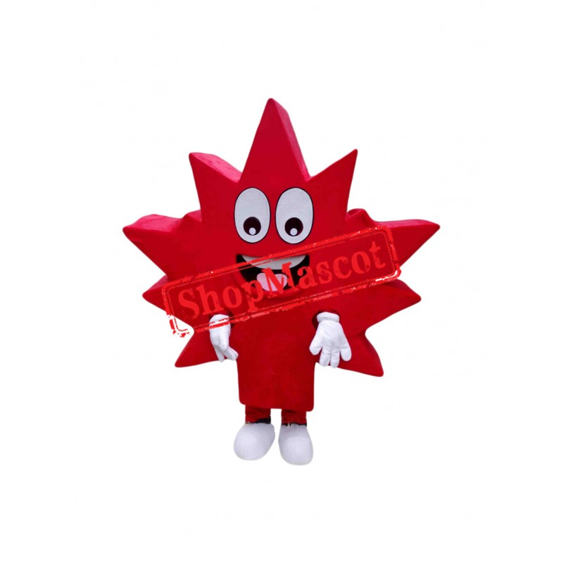 Superb Maple Leaf Mascot Costume