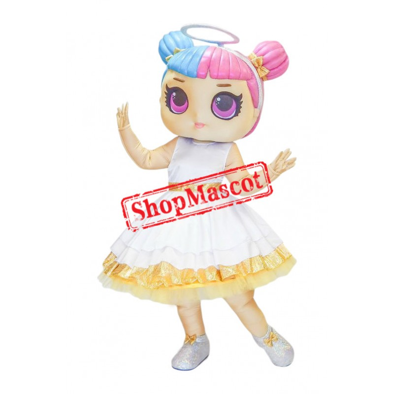 Doll Angel Mascot Costume