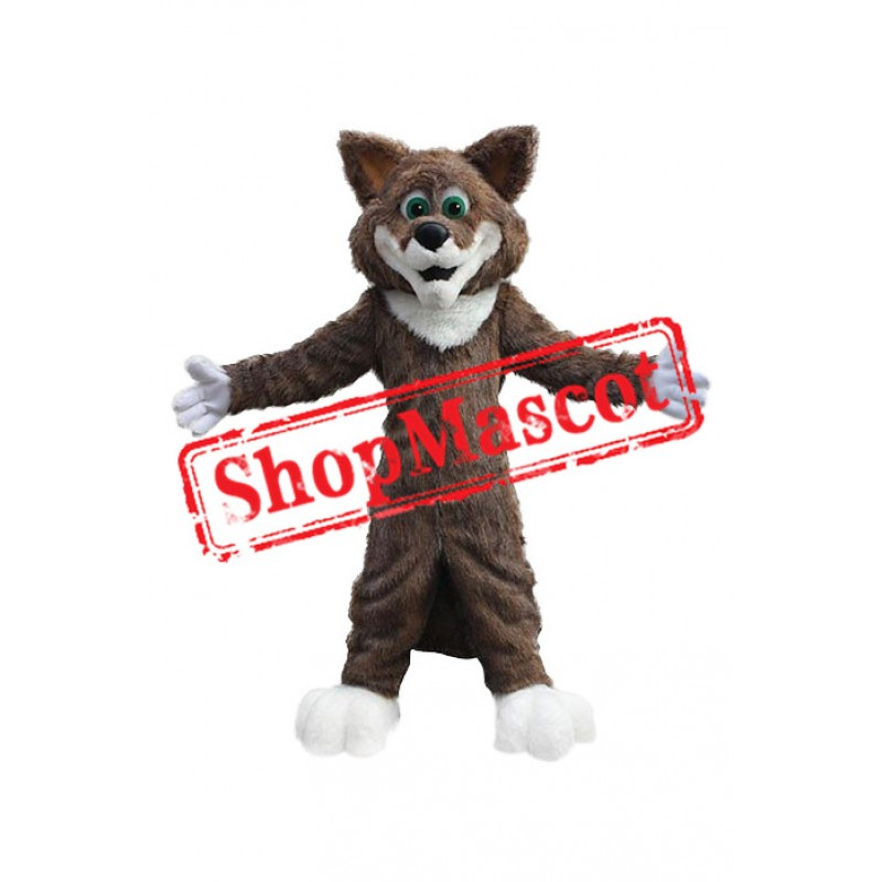Superb Friendly Fox Mascot Costume
