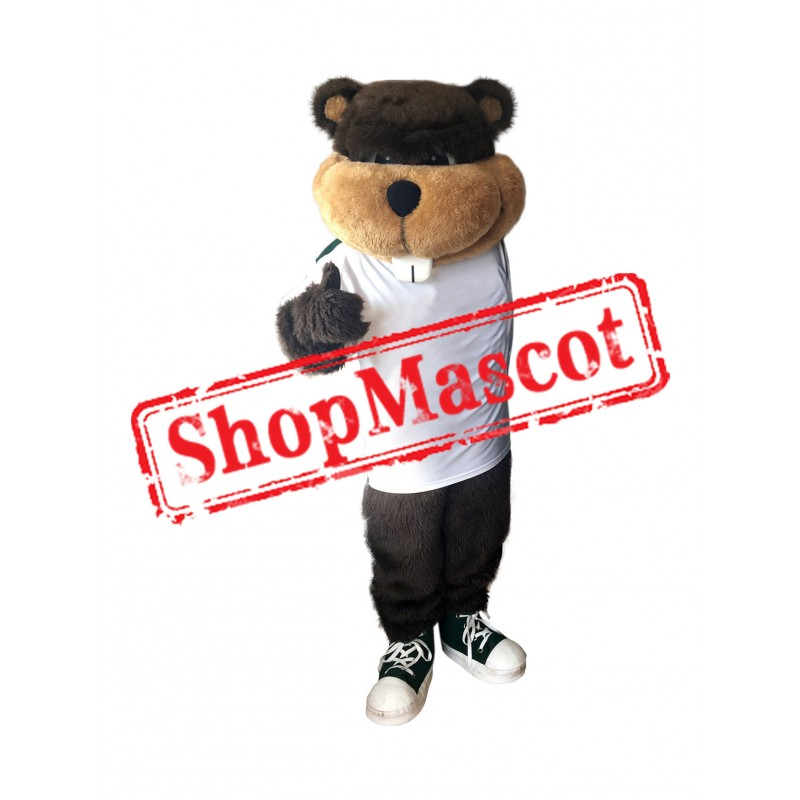 Superb School Beaver Mascot Costume