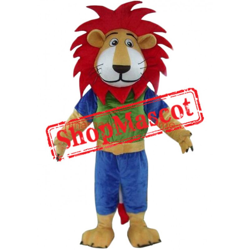 Affordable Colorful Lion Mascot Costume