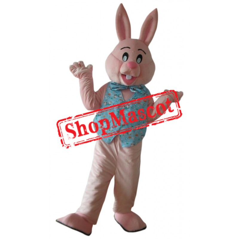 Affordable Pink Rabbit Mascot Costume