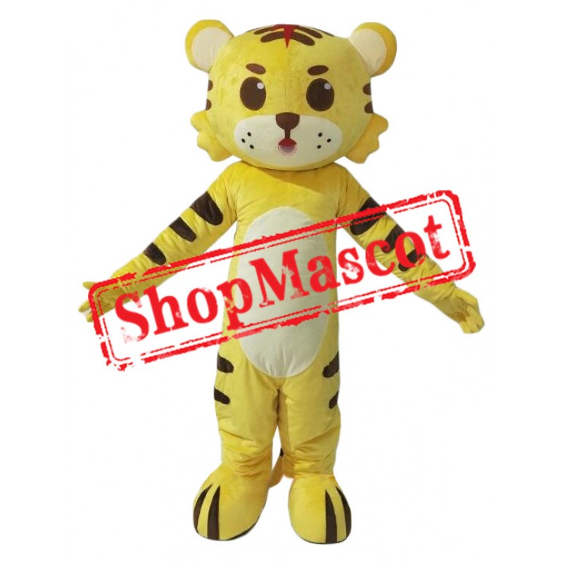 Affordable Little Tiger Mascot Costume