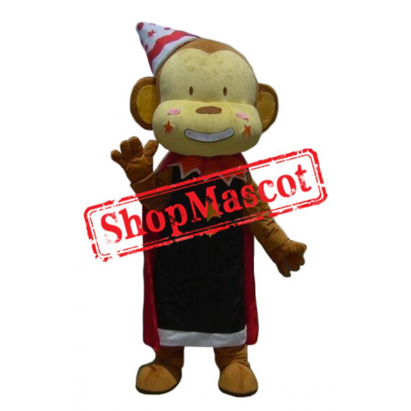 Affordable Funny Monkey Mascot Costume