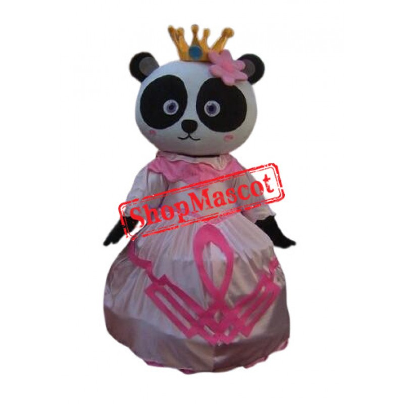 Princess Panda Mascot Costume