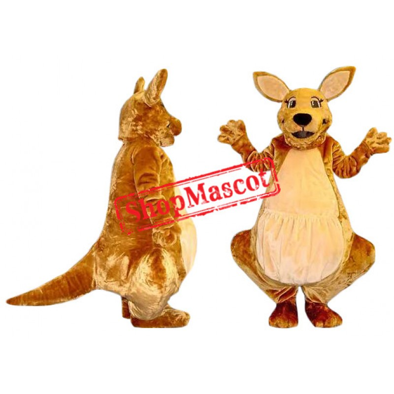 Superb Kangaroo Mascot Costume