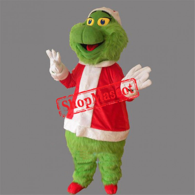 Grinch Stole Christmas Mascot Costume