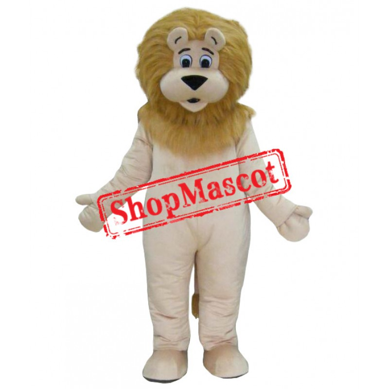 Superb Deluxe Lion Mascot Costume