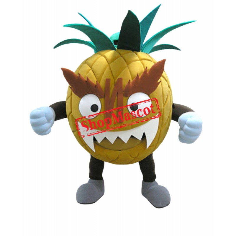 Fierce Pineapple Mascot Costume