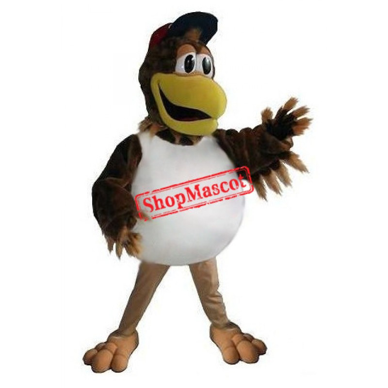 Sport Baseball Chicken Mascot Costume