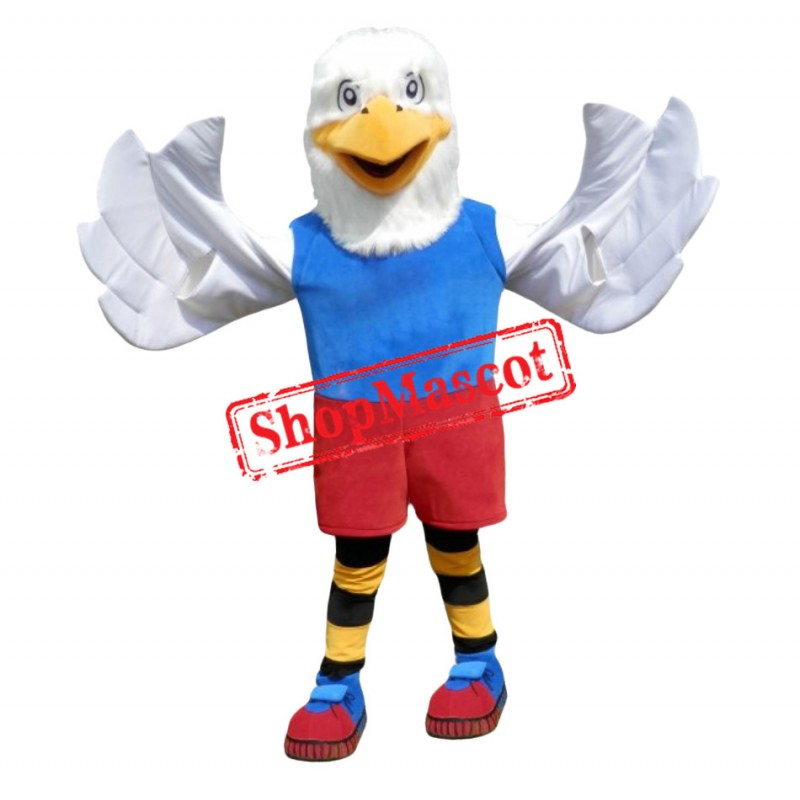 Superb College Eagle Mascot Costume