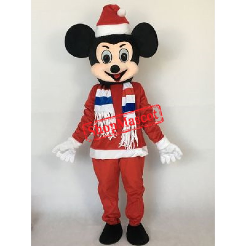Christmas Mickey Mascot Costume