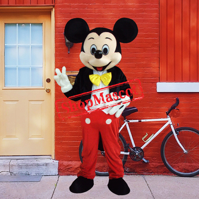 Lovely Mickey Mouse Mascot Costume