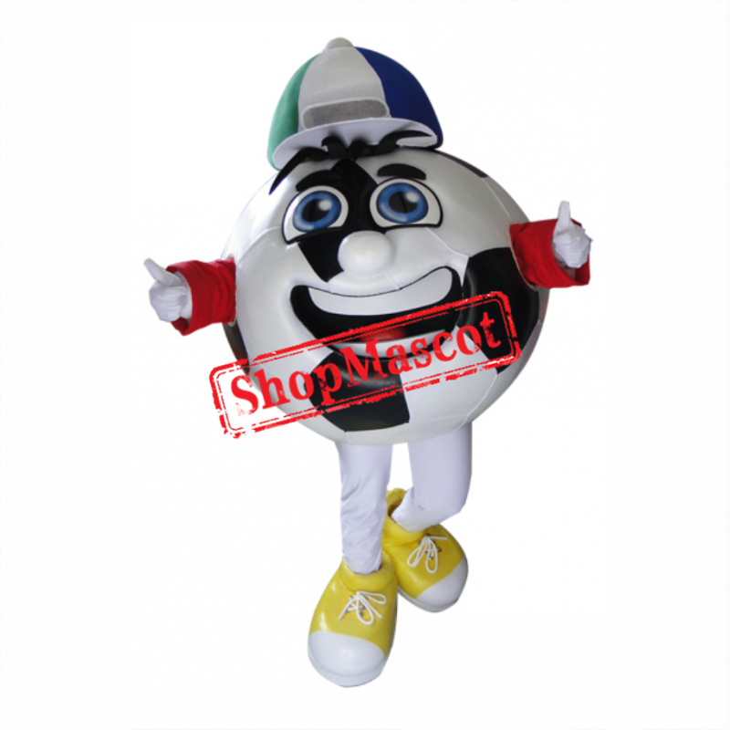Soccer Ball Mascot Costume