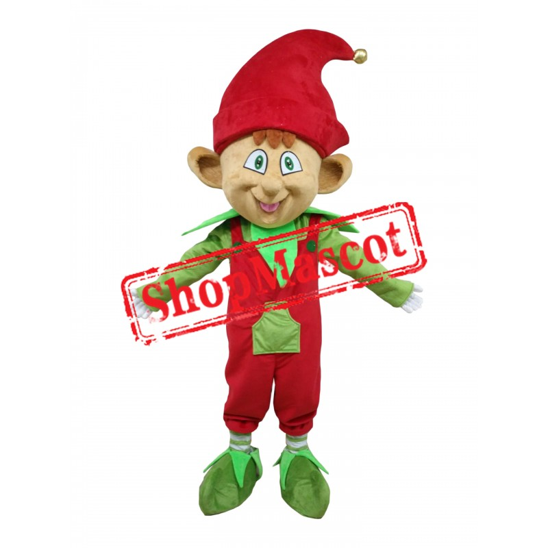 Superb Lightweight Christmas Elf Mascot Costume