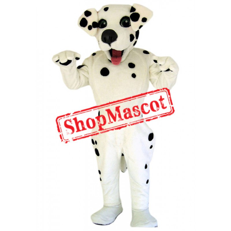 Lovely Dalmation Dog Mascot Costume