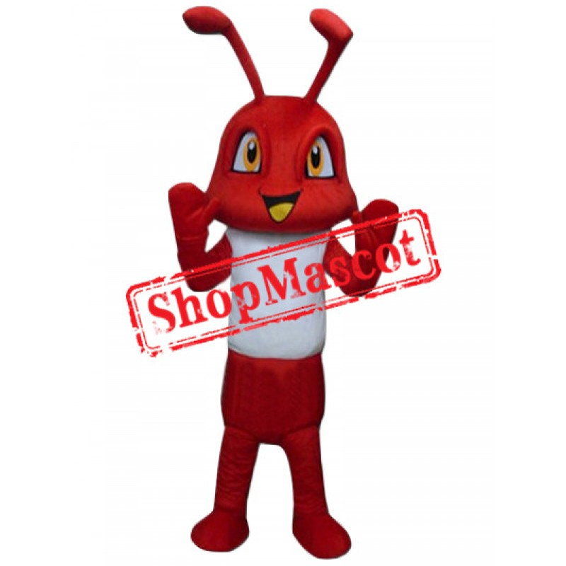 Red Fire Ant Mascot Costume