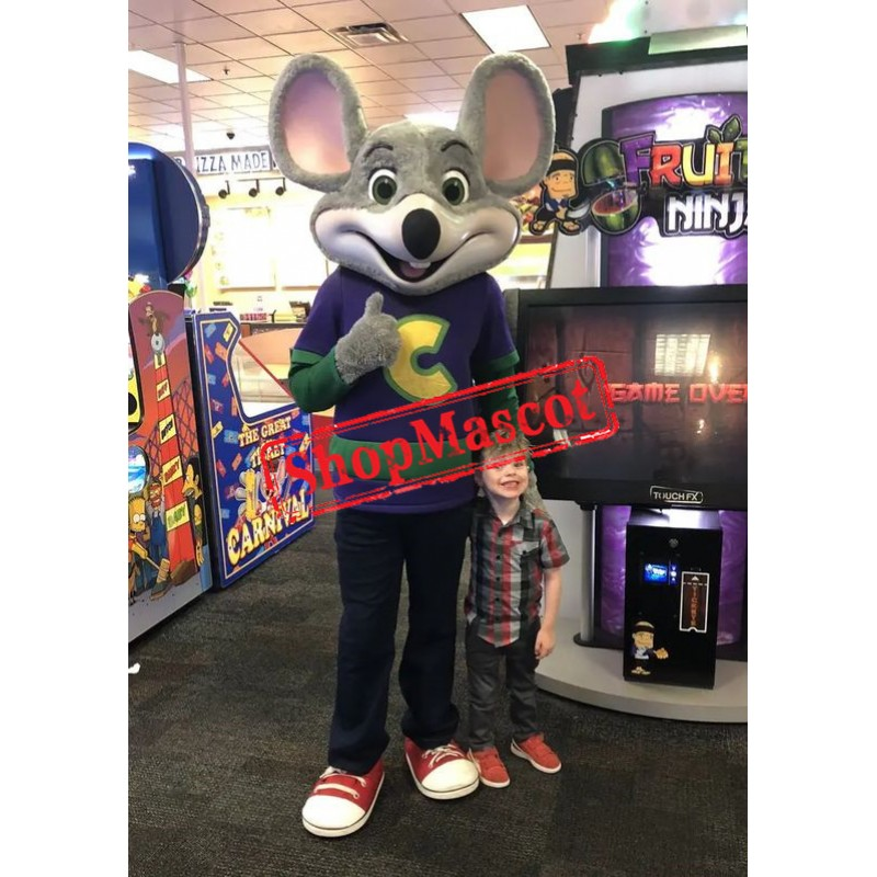 Chuck E. Cheese Mascot Costume