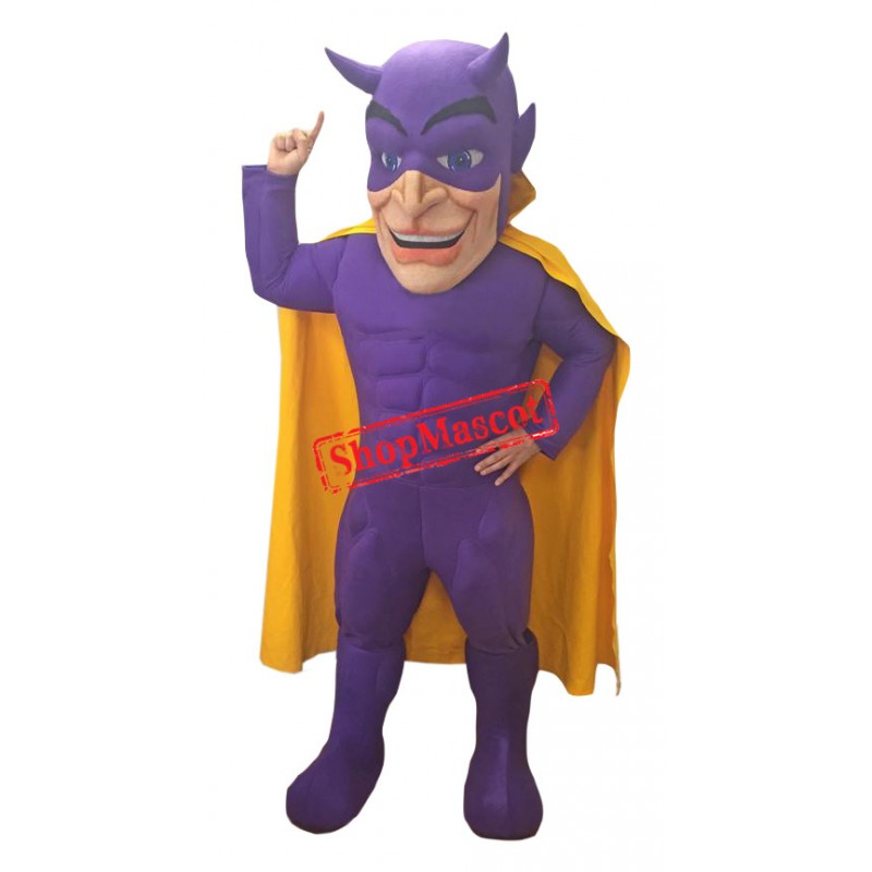 Power Devil Mascot Costume