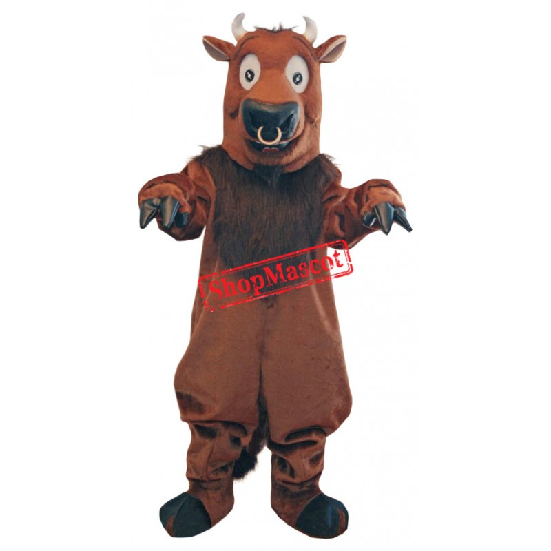 Superb Bull Mascot Costume