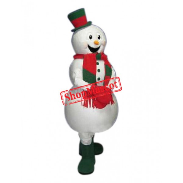 Affordable Christmas Snowman Mascot Costume