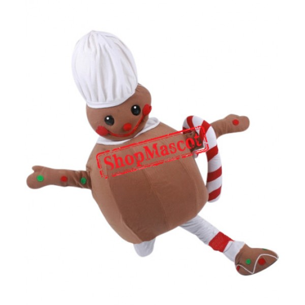 Affordable Gingerbread Mascot Costume