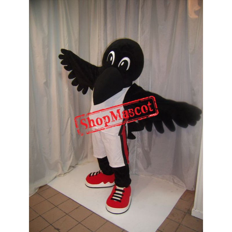 Black Lightweight Raven Mascot Costume