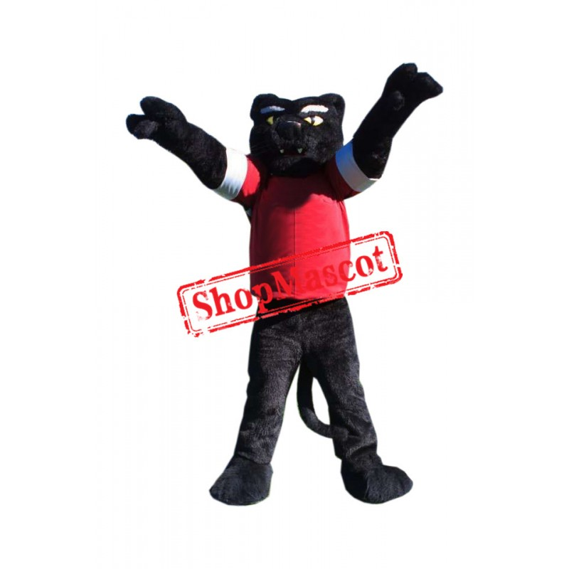 Sport College Panther Mascot Costume