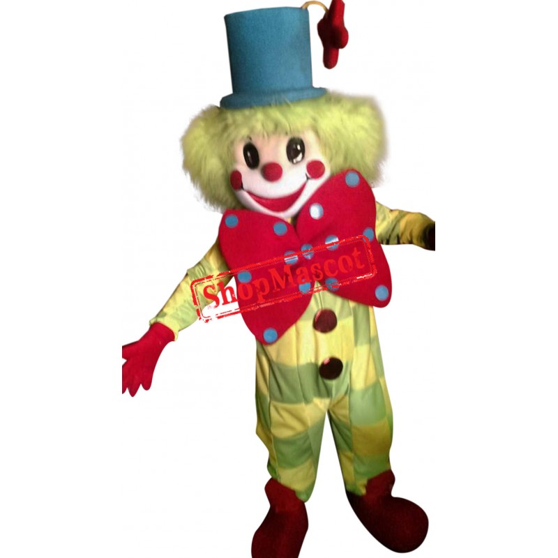 Superb Clown Mascot Costume