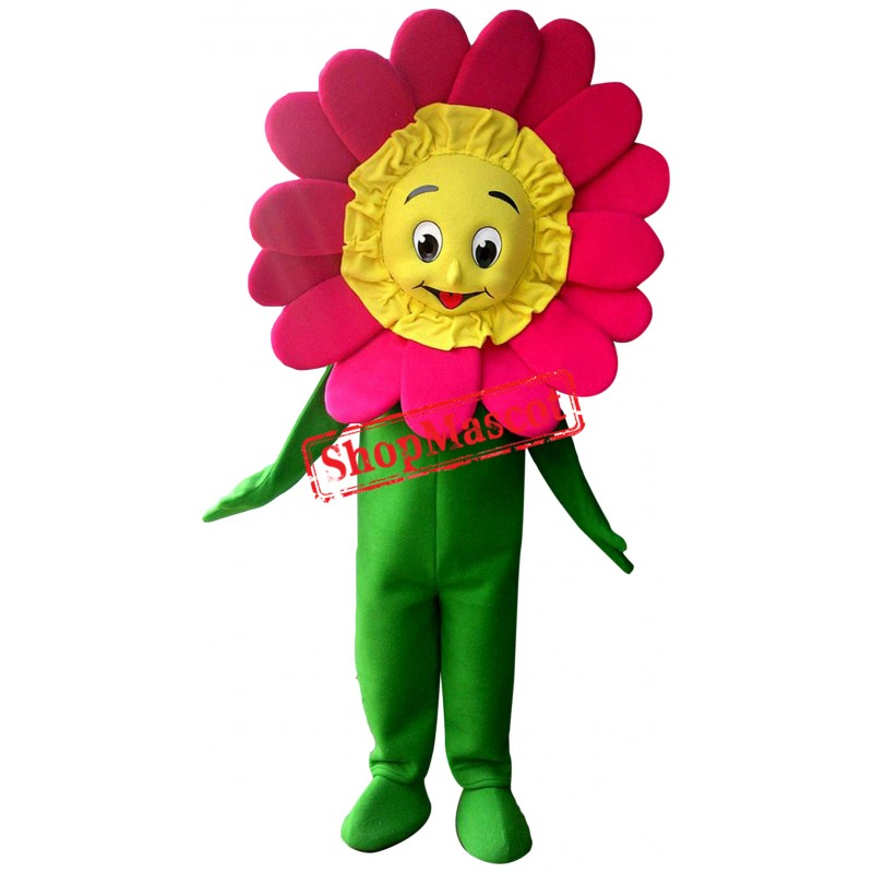 Affordable Flower Mascot Costume