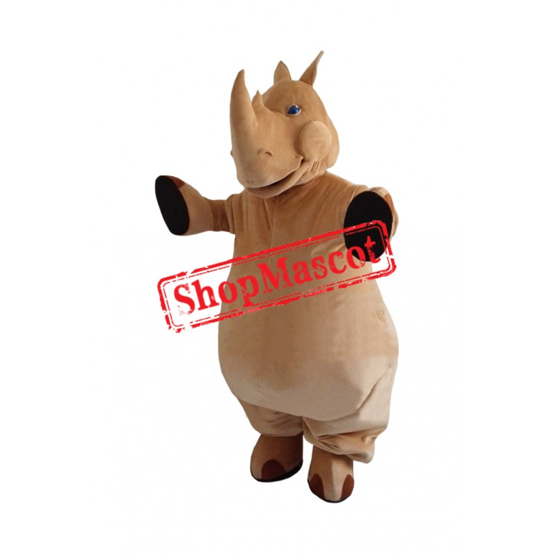 Superb Rhino Mascot Costume