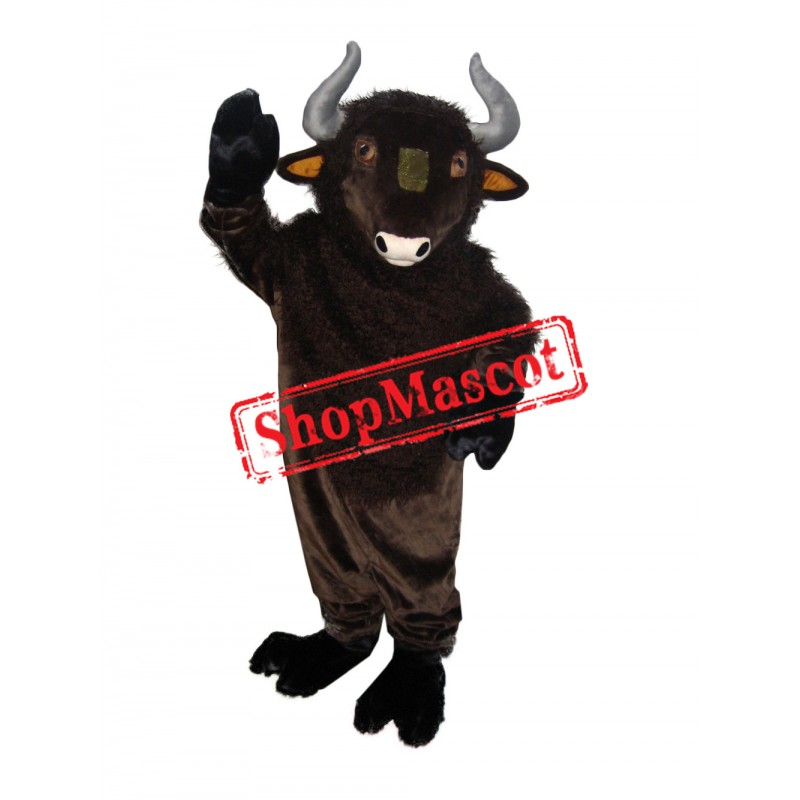 Superb Lightweight Bull Mascot Costume
