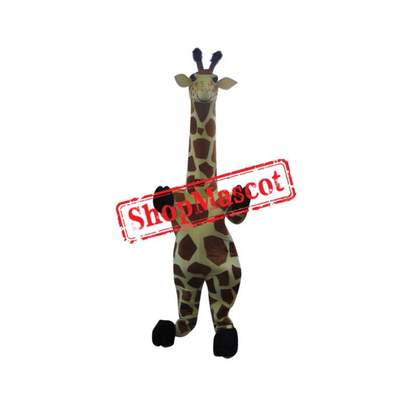 Superb Giraffe Mascot Costume