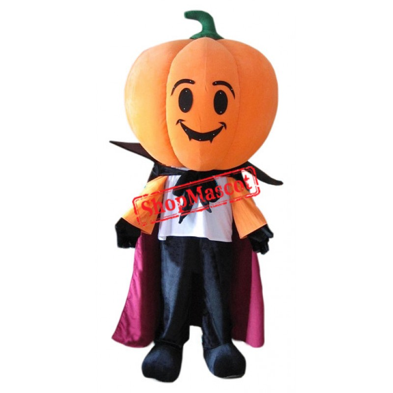 New Halloween Pumpkin Mascot Costume